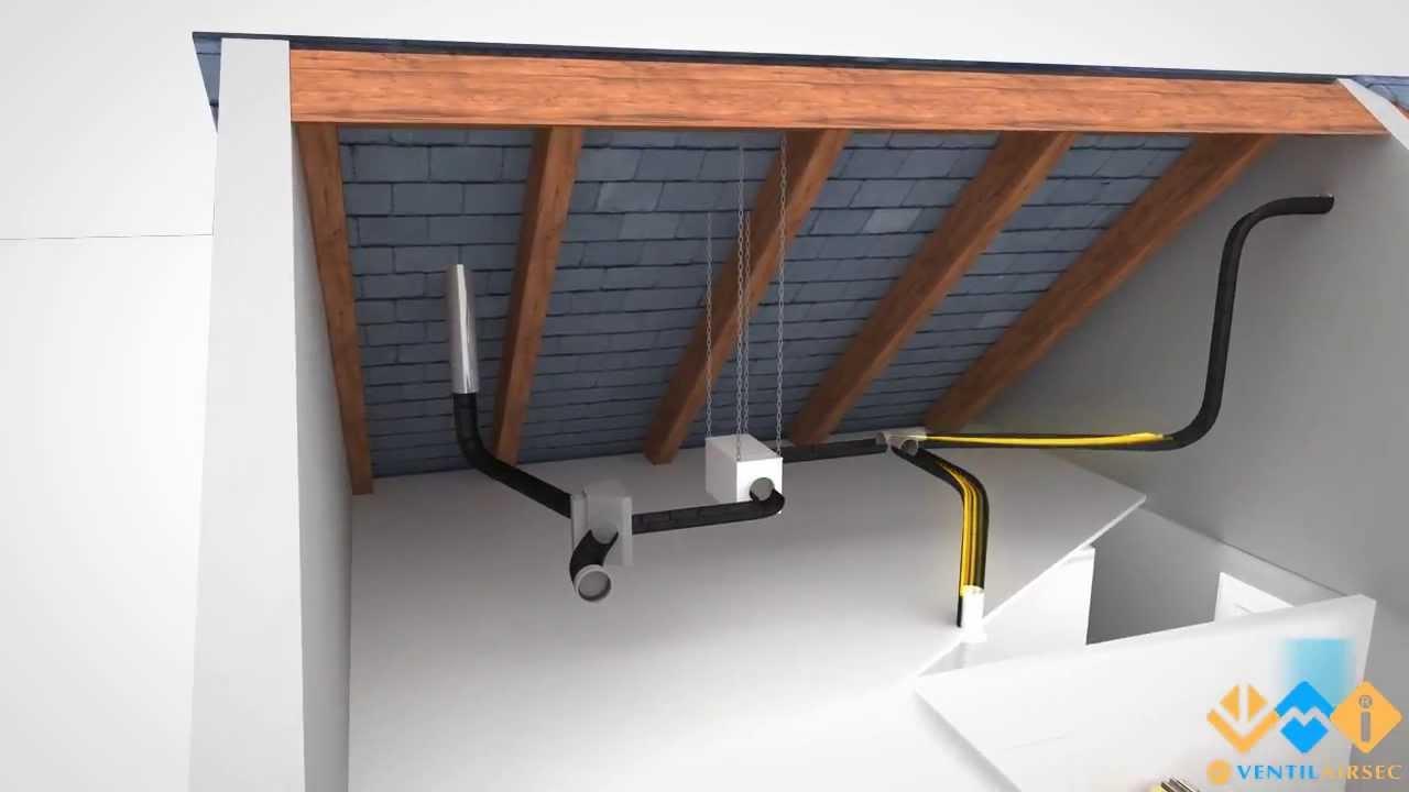 ventilation m canique par insufflation vmi thome humidit. Black Bedroom Furniture Sets. Home Design Ideas
